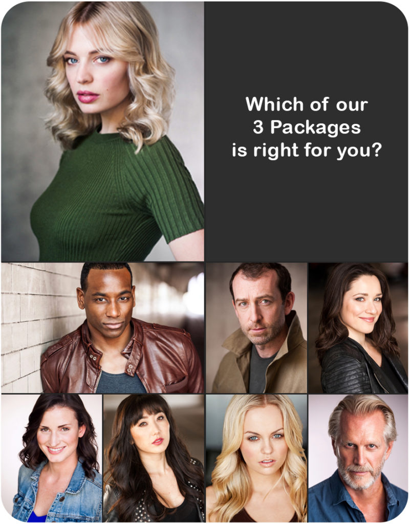 Actors Pricing – Headshots by LA Headshot Photographer John